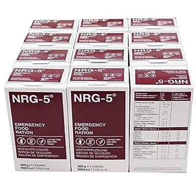 12 Pakete NRG Notfallnahrung