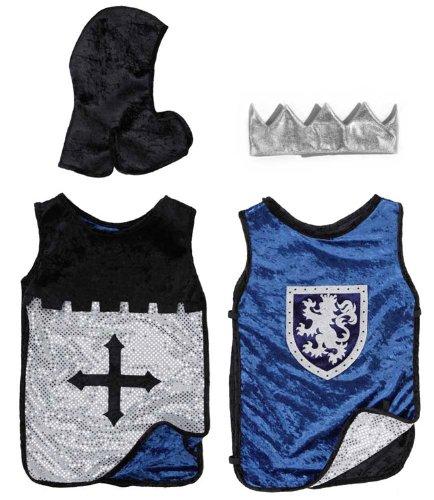 Costumi: King/Knight Set Blue/Silv. M/L