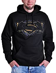 Hoodie Batman v Superman Gotham Guardian pull-over à capuche noir