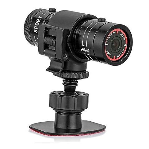 PYRUS Full HD 1080p Mini Sport Chambre- Casque de vélo action caméra vidéo DVR vidéo AVI caméra- Soutien 32Go Carte