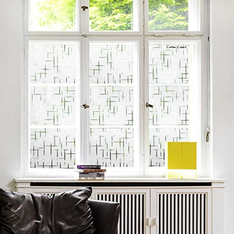 Cottoncolors Film Adhésif Décoratif Pour Fenêtre Vitrage Statique