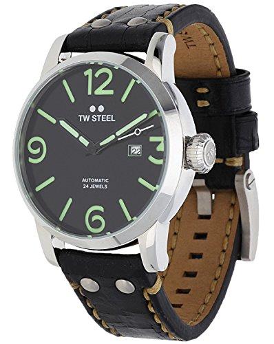 TW STEEL Herren Armbanduhr Maverick Automatik schwarz MS16-1