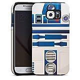 DeinDesign Samsung Galaxy S6 Hülle Tough Case Schutzhülle Star Wars Merchandise Fanartikel R2d2