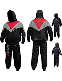 RDX Combinaison Sudation Fitness Survêtement Costume De Sauna Sweat Suit Training