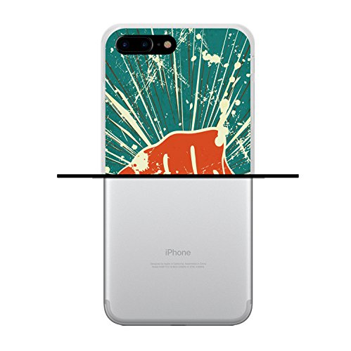iPhone 7 Plus Hülle, WoowCase Handyhülle Silikon für [ iPhone 7 Plus ] Buddha Handytasche Handy Cover Case Schutzhülle Flexible TPU - Transparent Housse Gel iPhone 7 Plus Transparent D0094