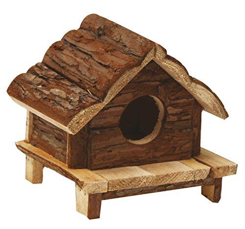 CROCI Love Hut Wood House, 12 x 12 x 12 cm 1