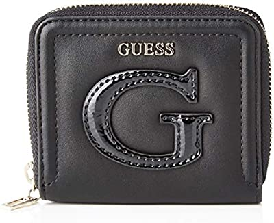 Guess - Chrissy, monedero Mujer, Negro (Black), 2x10x11 cm (W x H L)