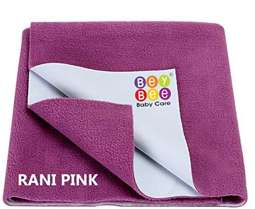 Bey Bee - Quick Dry Baby Bed Protector Waterproof Sheet (Rani Pink)