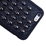 ALSATEK Coque Housse Silicone Gel TPU pour IPhone 6/6S Plus Motif Rivets Tète de...