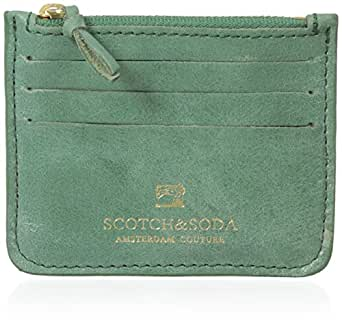 Scotch and Soda - Porte Monnaie - 14010277166 38 - Vert - Taille TU (taille unique)