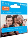 Carte Sim pr�pay�e Lebara incluant 7,...