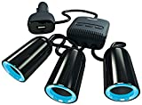 Best Energizer 12 Volt Car Batteries - Energizer 50503 Triple Socket Switched Adaptor and Twin Review