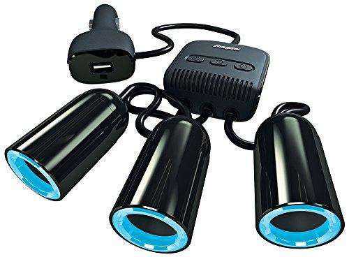 Energizer 50503 Adattatore Multipresa tripla per accendisigari con interruttore e