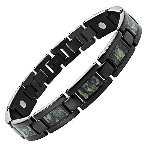 willis-judd-armband-fur-herren-aus-titan-magnetisch-schwarz-mit-grunem-camouflage-inklusive-werkzeug