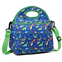 Lunch Bag for Kids, KASGO Neoprene Insulated Dinosaur Boys Lunch Boxes Children