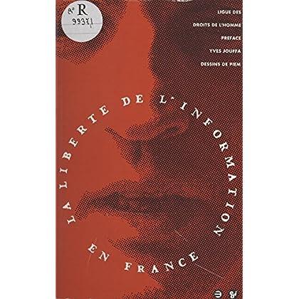 La liberté de l'information en France (Social Eco)
