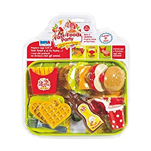 Rstoys - Ronchi Supe - Blister Fast Food Party con Bandeja,, 3.st10386