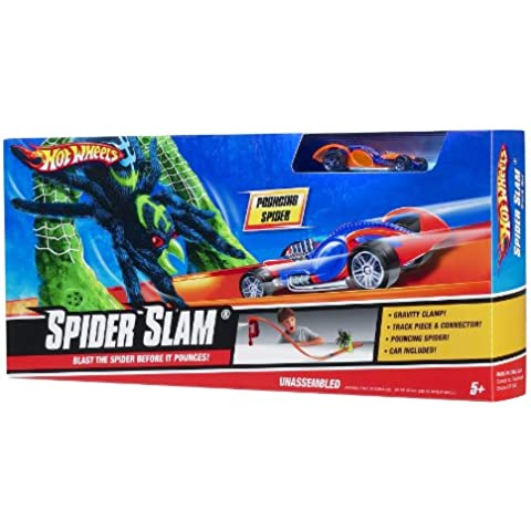 Hot Wheels Set Araña Slam de pista