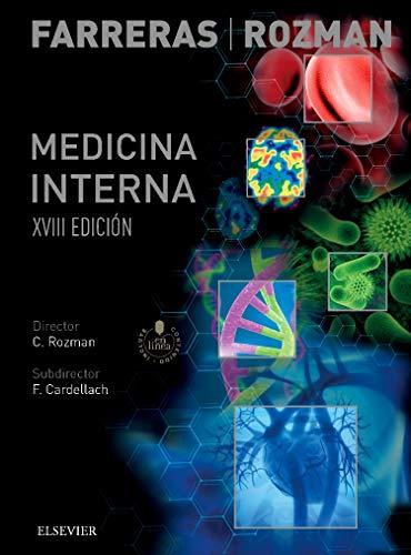 Farreras Rozman. Medicina Interna. Studentconsult En Español - 18ª Edición, Volumenes I+II
