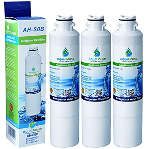 3x AH-S0B Compatible for Samsung DA29-00020B, HAF-CIN/EXP Water Filter, DA97-08006A-B,
