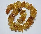 Natural ámbar secadora forma, Copal ámbar chips, pepitas de ámbar, 12cm Strand, Gemstone para joyería, collar de ámbar