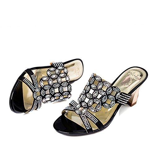 All'aperto Sandali e pantofole/Grezzo con tacco alto sandali/usura esterna sandali A