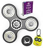 Primo agitano: Spinner ansia AttentionToy giocattolo con eBook bonus incluso (Inglese)- perfetto per aggiungere, ADHD allevia lo stress, autismo e ansia e Relax per bambini e adulti immagine