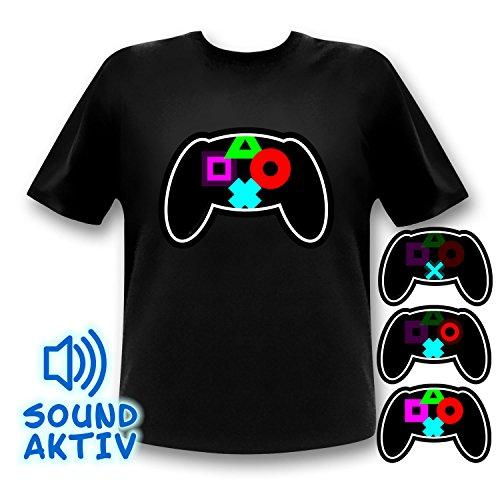 Shirt für Gamer und Zocker Plattformen