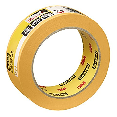 Scotch Painter's Masking Tape 36mm x 50m–Expert Plus Quality, Gold, PT24436