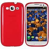 mumbi TPU Skin Case Samsung Galaxy S3 / S3 Neo Silikon Tasche Hülle - Silicon Protector Schutzhülle rot