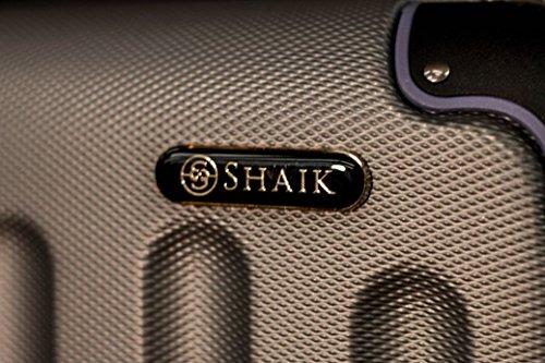 Shaik 7204013 Trolley Koffer, 50 Liter, Silber -