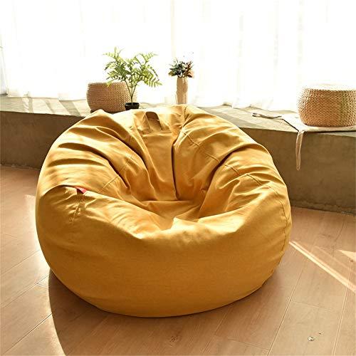 MAGO Sitzsack Slouch Sack - Lazy Sofa Single Chair Indoor/Outdoor (Farbe : Gelb, größe : 90 *...