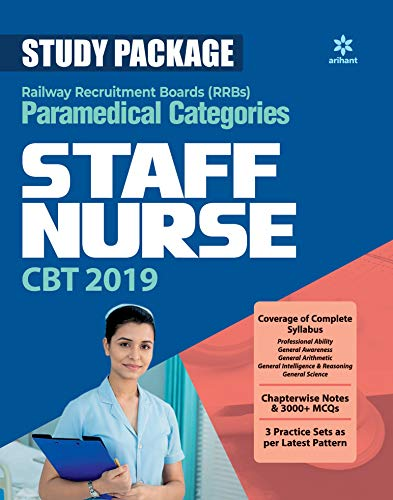 Study Package RRBs Paramedical Categories STAFF NURSE CBT 2019