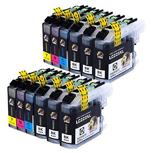 AUBEN Reemplazo Brother LC223 Cartuchos Tinta 12 Compatible