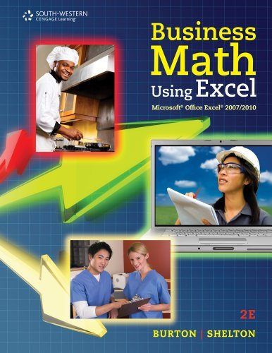 Bundle: Business Math Using Excel, 2nd + CengageNOW Printed Access Card by Sharon Burton (2011-04-15)