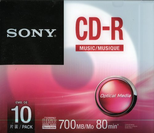 Sony 10CRM80SS Rohling Transparent/Weiß Sony Audio