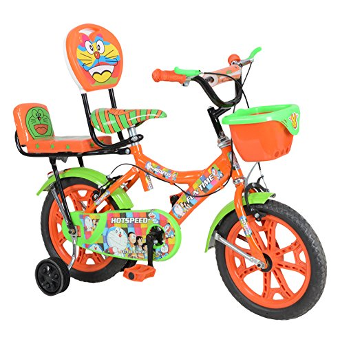 hot speed steel kids cycle, 14 inches ( orange and green) Hot Speed Steel Kids Cycle, 14 inches ( Orange and Green) 51vdTKqa5WL