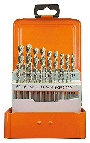 Projahn Eco 60844 Coffret de 21 forets HSS-Co UF-L DIN1897 2-10,2 mm par 0,5 mm