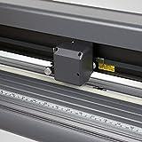 Lorenlli Misura il software della tagliatrice del segno del tracciatore della taglierina del vinile della taglierina SK-720T con l'incavo