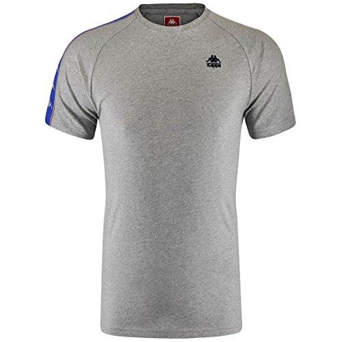 Kappa Carl, T-Shirt Uomo LT GREY MEL
