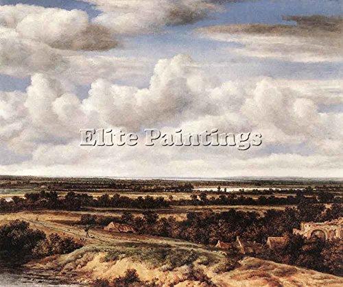 koninck-philips-extensive-landscape-road-ruin-tableau-huile-sur-toile-peinture-100x120cm-haute-quali