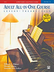 Alfred Adult All-in-One Course 2 Bk/CD --- Piano - Palmer, Manus & Lethco --- Alfred Publishing