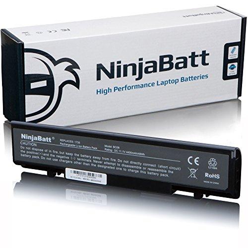 NinjaBatt® Nuova batteria per laptop per DELL STUDIO 1717351737-Alte prestazioni [6CELLE/4400mAh/49wh]