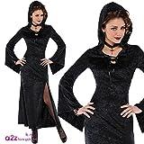 Disfraz de Vampira gótica para mujer en varias tallas para Halloween