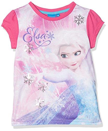 Disney Frozen Die Eiskönigin Mädchen T-Shirt mit Pailletten (116, (T Shirts Piraten Für Mädchen)