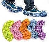 Generic Purple : 1 Pcs House Women Men Novelty Slippers Style Mops Sock