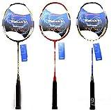 mark8shop Carbon Badminton Schläger High-End Schläger mit Tasche
