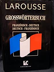 Grand dictionnaire français-allemand, allemand-français