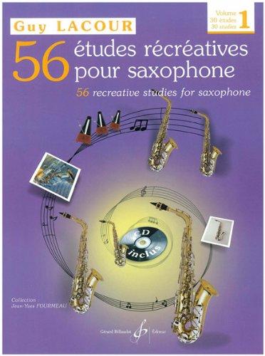 56 Études Recreatives Cahier 1-30 Études par Lacour Guy
