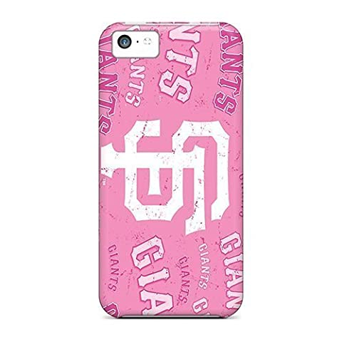 Rosesea Custom Personalized Defender Cases For Iphone 5c, San Francisco Giants Pattern by kobestar